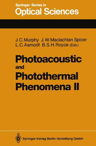 Photoacoustic And Photothermal Phenomena Ii: Proceedings Of The 6Th International Topical Meeting, Baltimore, Maryland, July 31-August 3, 1989 (Springer Series In Optical Sciences)