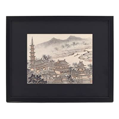 Twelve Views of Tiger Hill (Framed Print)||EVAEX