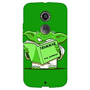 Jugaaduu Grammar Yoda Back Cover Case For Moto X (2nd Gen)