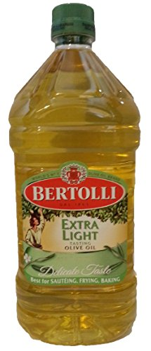 Bertolli Extra Light Virgin Olive Oil, 67.6 Ounce Jumbo Bottle