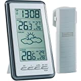 Technoline WS-9130- Digital Weather Station with Outdoor Sensor and Radio Controlled Clock
