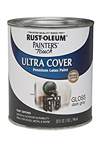 Rust-Oleum 1922730 Painters Touch Latex, 1/2-Pint, Navy Blue - 6 Pack