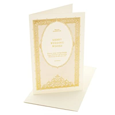 William Shakespeare Wedding Card - The Tempest