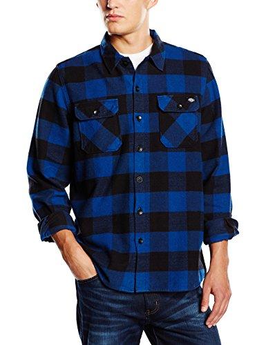 Dickies - Sacramento, Camicia da uomo, blu (blue), XL