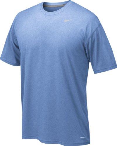 Nike 384407 Legend Dri-Fit Short Sleeve Tee - Light Blue