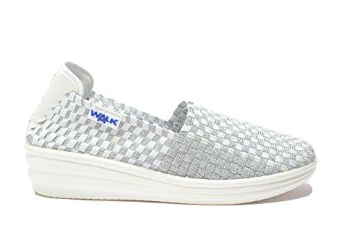 Melluso Slip on zeppa bianco scarpe donna Walk 05910 38