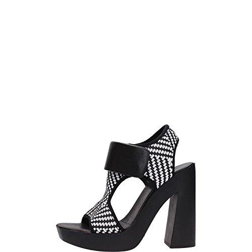 Vic Matie' 6847D Sandalo Donna Bianco/nero Bianco/nero 35