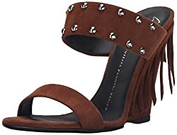 Giuseppe Zanotti Women s E60258 Dress Sandal heel Cam Sigaro 6 B(M) US