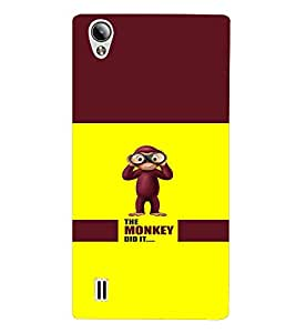 PRINTVISA Quotes Cartoon Funny Case Cover for VIVO Y15S