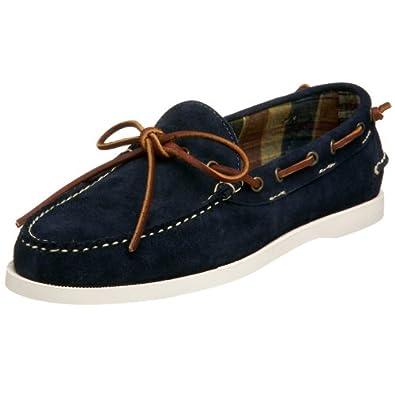 Ralph Lauren Men's Tierney Boat Shoe,Navy,7 M US