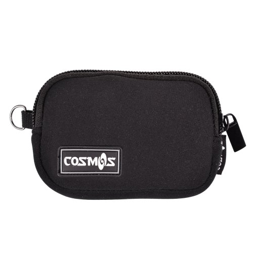 Cosmos ® Black Color Soft Neoprene Sleeve Carrying Travel Case For Bose Soundlink Mini Bluetooth Speaker Power Adaptor Or Car Charger