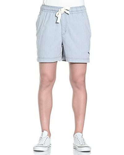 PUMA Bermuda Style Denim Like Shorts