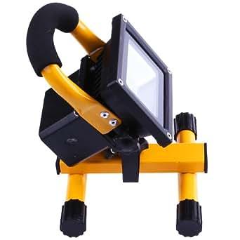 Le 10w lampe de travail led portable rechargeable for Luminaire exterieur rechargeable