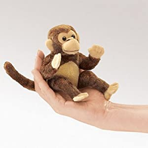 Folkmanis Mini Monkey Finger Puppet from Folkmanis