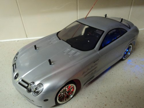 Mercedes Mclaren SLR Style Radio Remote Control Car Rechargeable 1/10 Scale 20 MPH