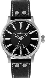 Jacques Lemans Unisex-Armbanduhr The Expendables 2 Analog Quarz Leder E-223
