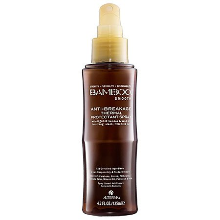 Alterna Bamboo Smooth Anti-Breakage Thermal Protectant Spray for Unisex, 4.2 Ounce