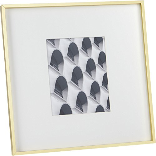 CB2 Gallery 8x10 Brass Picture Frame (Brass Gallery Tray compare prices)