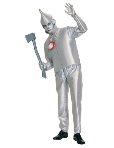 Wiz Of Oz Tin Man Adult Costume Halloween Costume