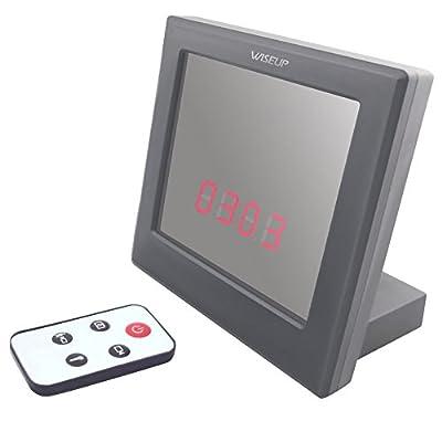 Wiseup 32GB Capacity 1280x960 Color HD Motion Detection Mirror Clock Camera Hidden Camera Mini DVR-No TF Card by Da Wu Technology