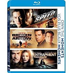 Speed/Broken Arrow/Entrapment [Blu-ray]