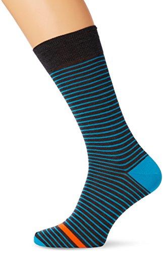 thomas-pink-mens-devon-stripe-calf-socks-multicoloured-turquoise-grey-medium-manufacturer-sizesmall-