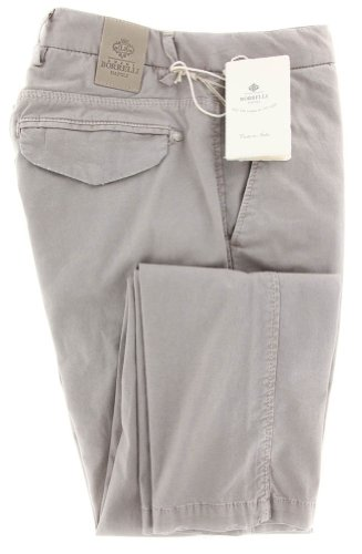 new-luigi-borrelli-beige-solid-pants-super-slim-36-52