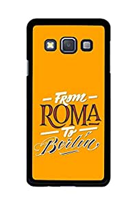 Caseque From Roma to Berlin Back Shell Case Cover for Samsung Galaxy A3
