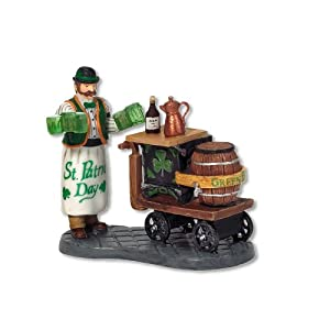#!Cheap Department 56 Christmas In The City Serving Irish Ale
