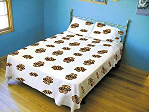 OKLAHOMA State Cowboys 3Pc Sheet Set - Twin XL