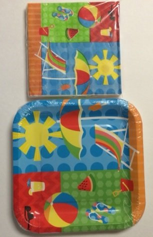 Summer Sun Paper Party Pack