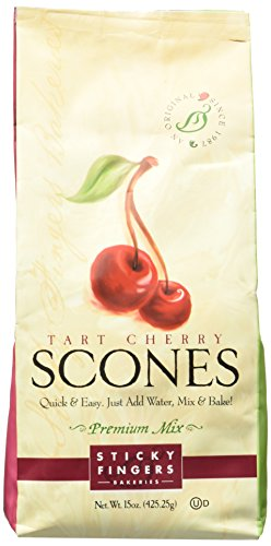 Sticky Fingers Mix Tart Cherry English Scone MIX 1lb. ( 454g) (Scones Mix compare prices)