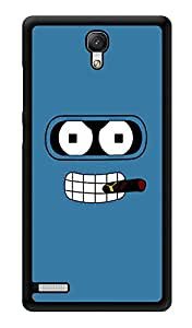 """Humor Gang Man With Smoke Printed Designer Mobile Back Cover For """"Xiaomi Redmi Note - Xiaomi Redmi Note 4G"""" (3D, Glossy, Premium Quality Snap On Case)"""