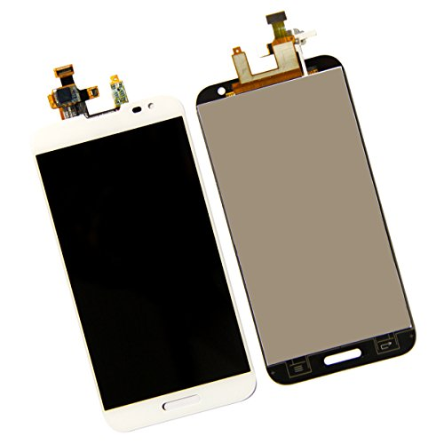 SKILIWAH LCD Display + Touch Screen Digitizer Assembly (No Frame) For LG Optimus G Pro F240 E980 E985 E988 (White) (Lg G Pro E986 compare prices)