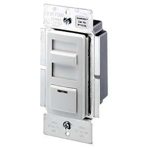 leviton ip710 dlx illumatech 1200va preset fluorescent slide dimmer single pole and 3 way. Black Bedroom Furniture Sets. Home Design Ideas