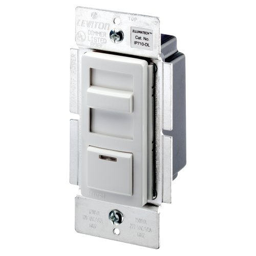 dimmer switches leviton ip710 dlx illumatech 1200va. Black Bedroom Furniture Sets. Home Design Ideas