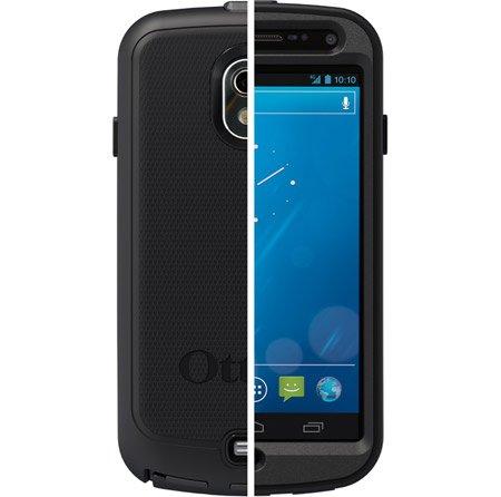 耐衝撃+防塵+防滴! OtterBox+Galaxy+Nexus+SC-04D+Defender+Case%2C+Black+with+Holster+%2CBlack+オッターボックス+ディフェンダー・ケース(クリアー液晶保護膜、専用クリップホルスター+つき)+ギャラクシー+ネクサス+ブラック