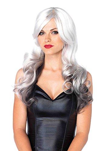 Allure Multi Color Long Wavy Wig Costume Accessory (Allure Multi Color Long Wavy Wig)