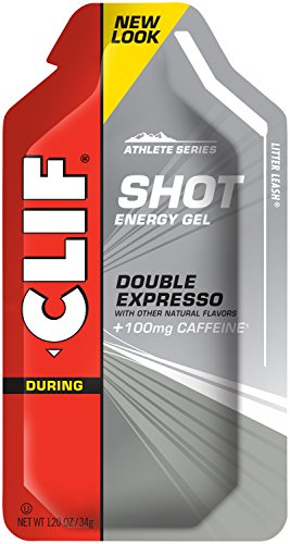 CLIF SHOT - Energy Gel - Double Espresso - (1.2 oz, 24 Count) (Espresso Shot compare prices)
