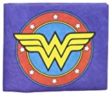 Dynomighty Mens Wonder Woman Mighty Wallet, Blue/Yellow/Red, One Size