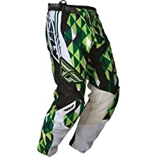 Fly Racing Youth Kinetic 2012 Offroad Pants Green/White 20