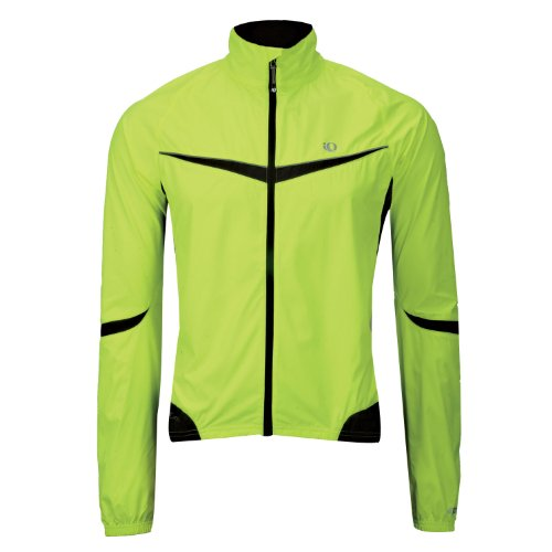 Pearl Izumi Men's Elite Barrier Jacket,Screaming Yellow/Black,Small Picture