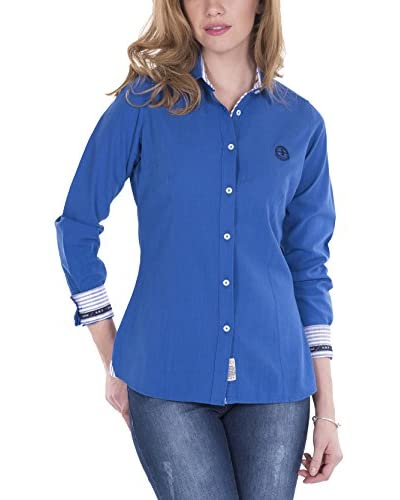 SIR RAYMOND TAILOR Women'S Linen Shirt Cleek