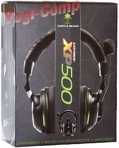 Brand New!! Turtle Beach Ear Force Xp500 7.1 Earforce Wireless Headphones For Pc Xbox Ps3