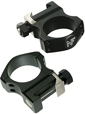 "Nightforce Optics 1.00"" Medium Ultra Light Titanium Alloy Ring Set for 30mm Scopes by Nightforce Riflescopes"