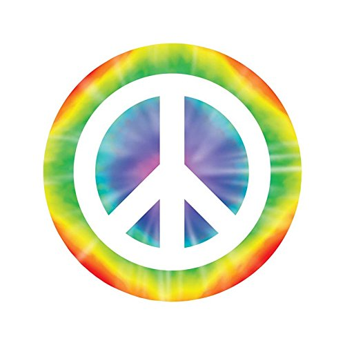Peace Sign Cutout Party Accessory (1 count) - 1