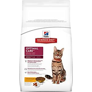 Hill's Science Diet Adult Optimal Care Original Dry Cat Food Bag, 7-Pound