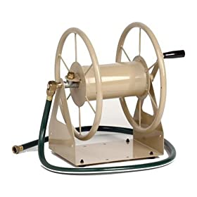 Liberty Garden Products 3-in-1 Garden Hose Reel With 200-Foot Hose Capacity 703-1-Bronze