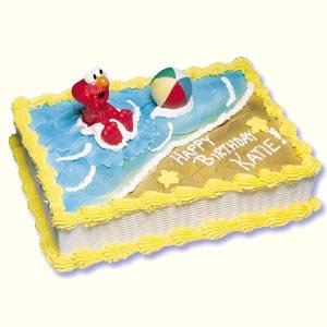Buy Sesame Street Elmo with Beach Ball Cake Kit