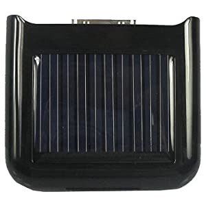 Solar Charger for Apple iPhone & iPod (Black)